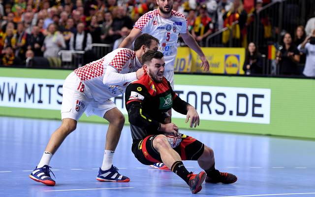 Croatia v Germany: Group 1 - 26th IHF Men's World Championship