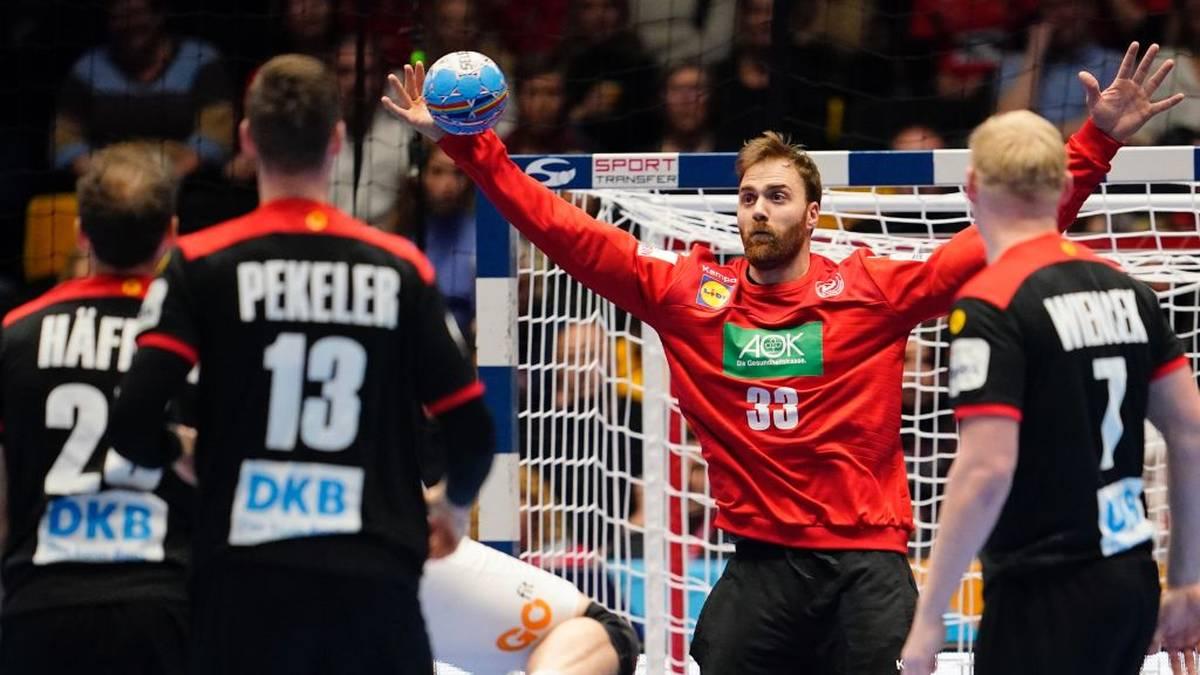 Andreas Wolff parierte gegen Spanien nur einen Wurf