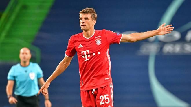 Thomas Müller will mit dem FC Bayern erneut das Triple gewinnen