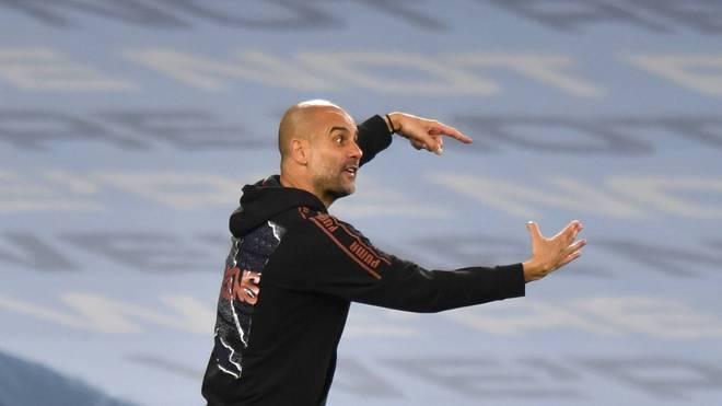 Pep Guardiola hat mit Manchester City eine deutliche Niederlage kassiert