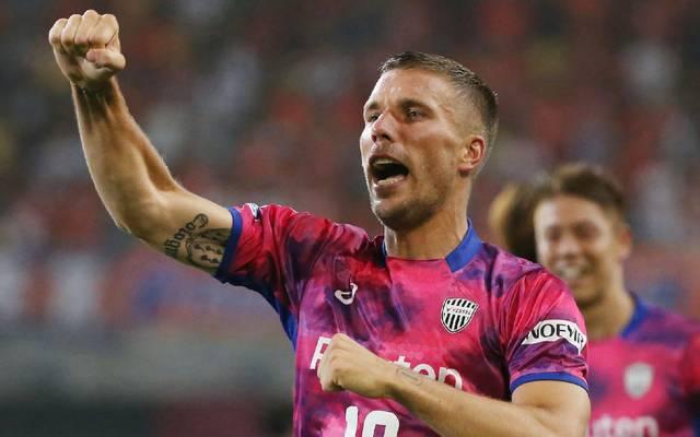 Lukas Podolski spielt derzeit für Vissel Kobe in Japan