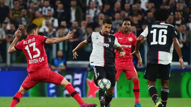 Bayer Leverkusen musste sich Sami Khedira und Juventus Turin geschlagen geben