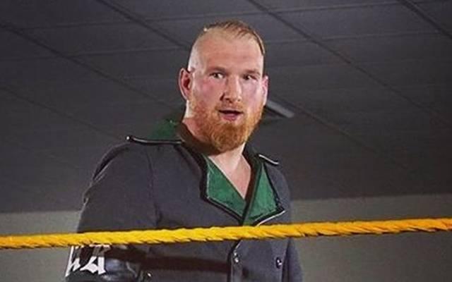 Axel Tischer tritt bei der WWE-Nachwuchsliga NXT als Alexander Wolfe an