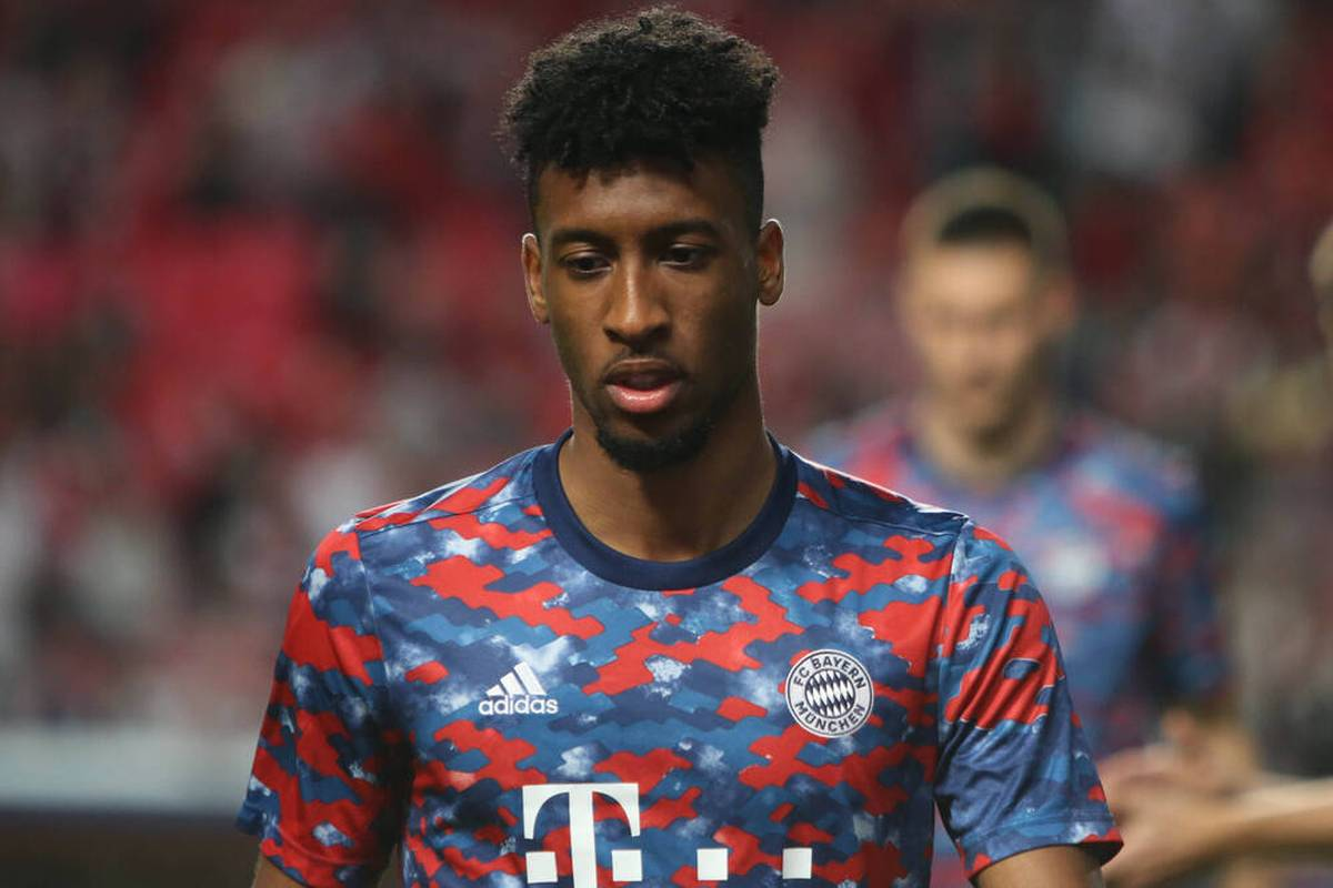 Kingsley Coman of Bayern Munich during the UEFA Champions League, Group E football match between SL Benfica and Bayern Munich on October 20, 2021 at Estadio da Luz in Lisbon, Portugal FOOTBALL - CHAMPIONS LEAGUE - BENFICA v BAYERN MUNICH LaurentLairys Panoramic PUBLICATIONxNOTxINxFRAxITAxBEL 20210507558