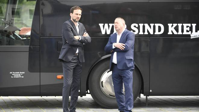Marc Weinstock (r.) ist gegen die Handball-WM 2021 in Ägypten