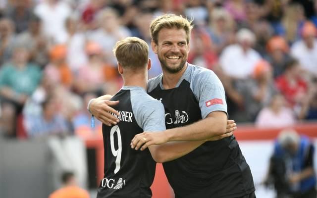 Moritz Fürste (r.) hofft auf eine Rückkehr des Breitensports