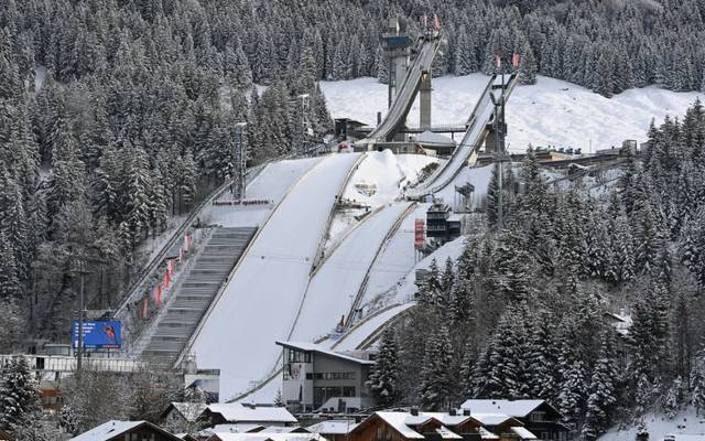 Die Organisatoren in Oberstdorf planen mit Zuschauer