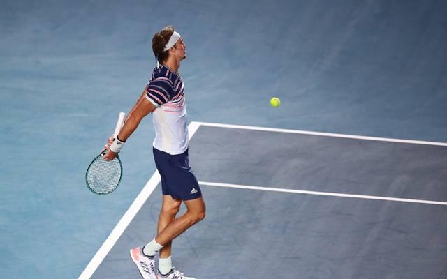 Alexander Zverev scheitert im Achtelfinale des ATP-Cups in Acapulco