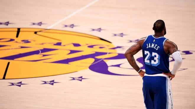 LeBron James unterlag bei seinem Comeback mit den Los Angeles Lakers