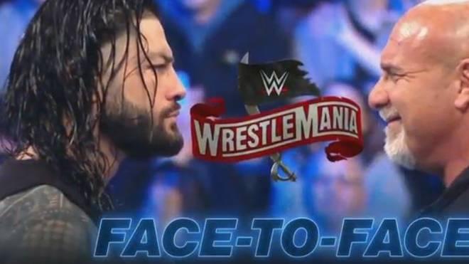 WWE warb bei SmackDown mit einem Aufeinandertreffen zwischen Reigns und Goldberg in der kommenden Woche