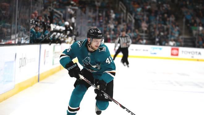 Lean Bergmann von den San Jose Sharks in der NHL