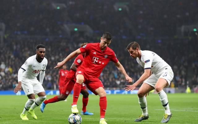 Robert Lewandowski und der FC Bayern empfangen Totteham Hotspur zum letzten Spiel der Gruppenphase