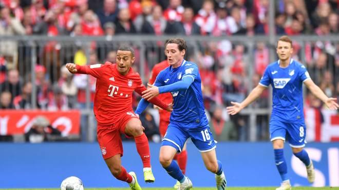 Thiago tritt mit dem FC Bayern in Hoffenheim an
