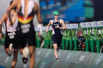 Auf SPORT1 gibt es im September wieder Triathlon-Action zu bestaunen. Die Super League macht Station im Münchner Olympiapark und viele Top-Athleten sind dabei.