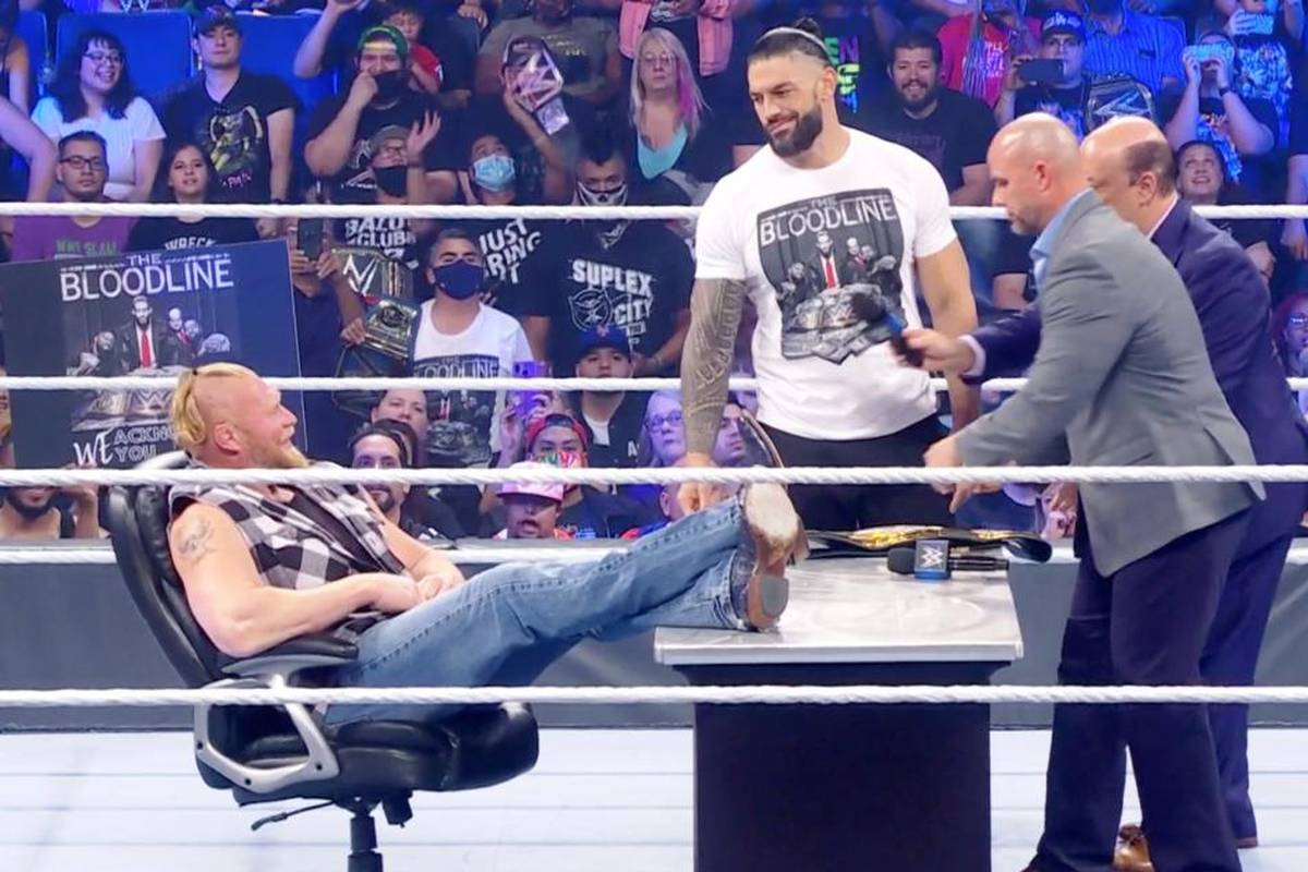 WWE spielt beim historischen ersten direkte TV-Duell von WWE SmackDown mit AEW voll auf Sieg. AEW liefert das Topmatch des Abends gratis auf YouTube.