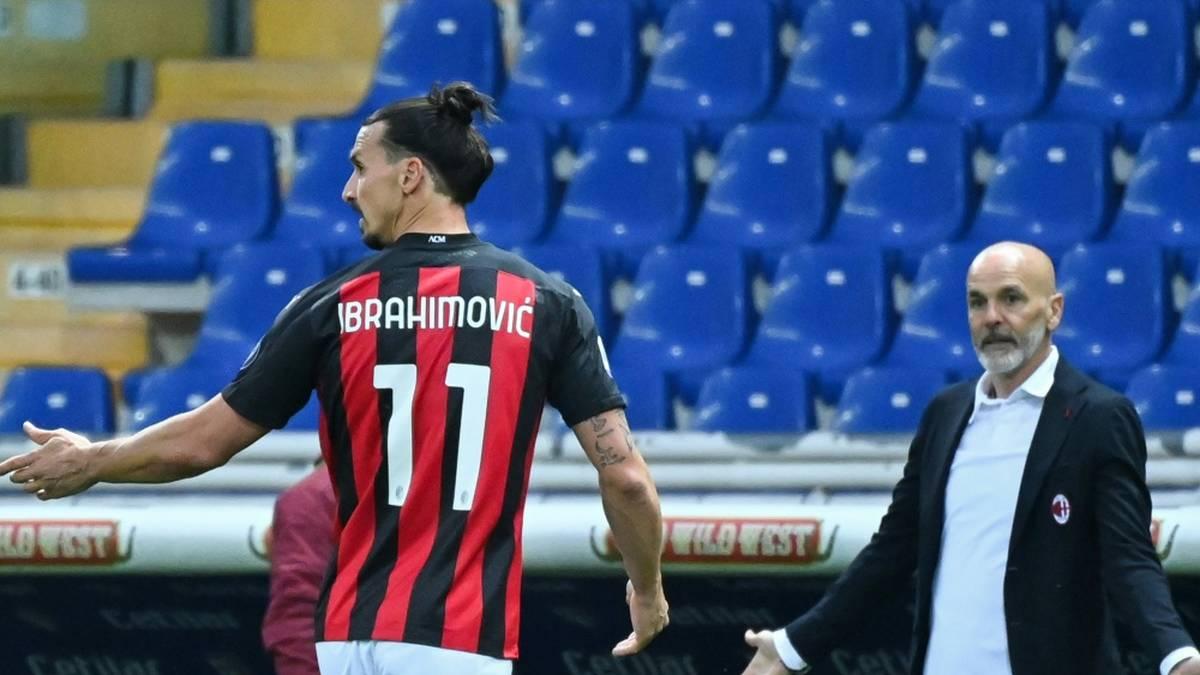 Hat Ibrahimovic den Schiedsrichter beleidigt?