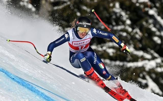 Sofia Goggia hat sich schwer am Knie verletzt