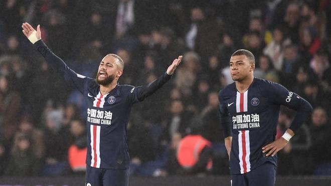 Neymar kann mit Paris Saint-Germain die Saison voraussichtlich nicht beenden