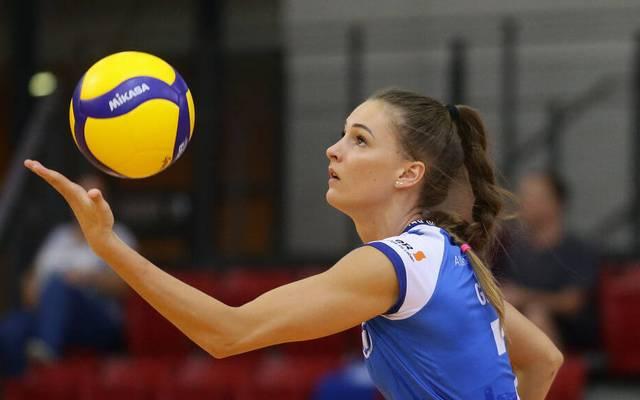 Dora Grozer begann ihre Karriere in der Nachwuchsmannschaft des Moerser SC