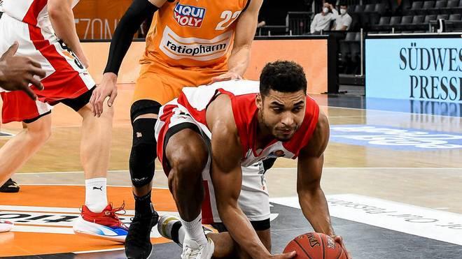 Kenneth Ogbe erzielte gegen Ulm zwölf Punkte