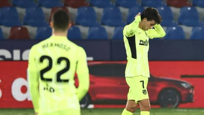 Atlético holt gegen Levante nur einen Punkt