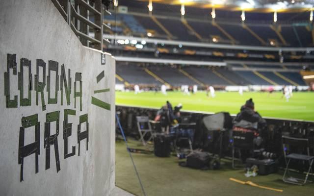Das Geisterspiel in der Europa League zwischen Frankfurt und Basel war eines der letzten Fußballspiele vor der Coronapause in Deutschland