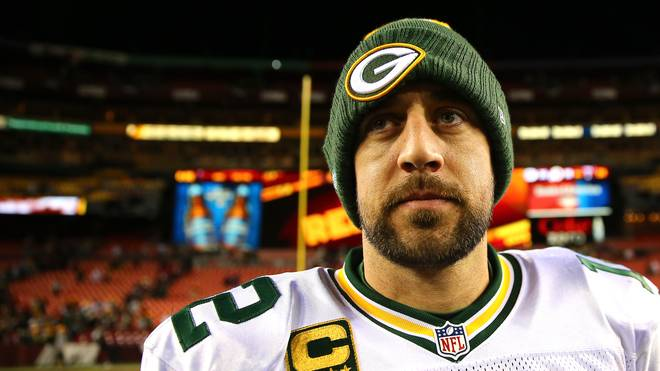 Aaron Rodgers ist Quarterback der Green Bay Packers