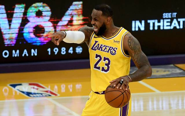 LeBron James konnte mit den Lakers den nächsten Sieg feiern