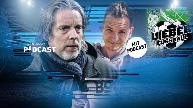 """Jan Aage Fjörtoft spricht im SPORT1-Podcast """"Lieber Fußball"""""""