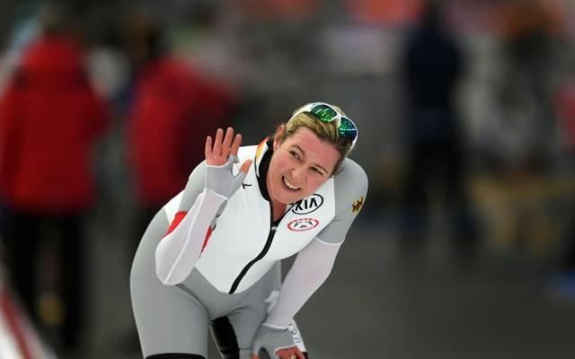 Keine 3000 m am Donnerstag: Claudia Pechstein