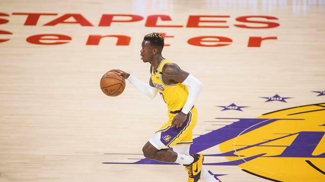 Dennis Schröder zeigte eine starke Leistung für die Los Angeles Lakers
