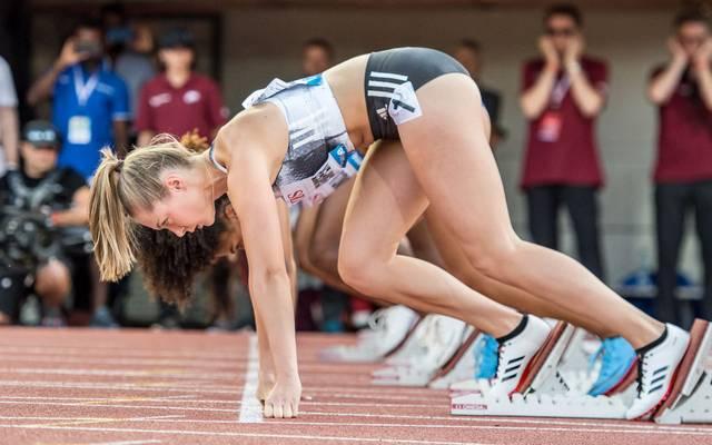 Gina Lückenkemper holte bei der EM in Berlin zwei Medaillen