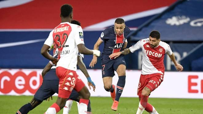 Kylian Mbappé trifft mit PSG auf Monaco