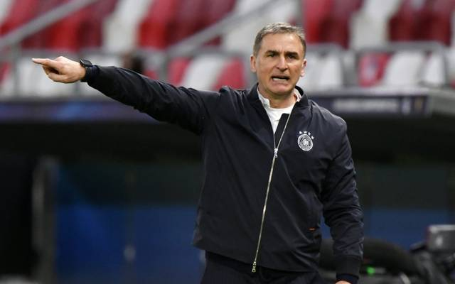 Kuntz und die DFB-Auswahl treffen auf Brasilien