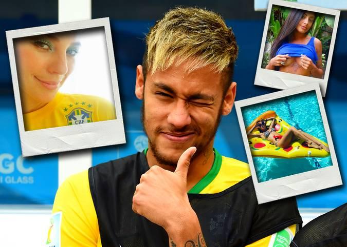 Neymar hat gewählt: Für den Playboy in seiner Heimat stellt der Superstar des FC Barcelona eine Top 3 der heißesten Brasilianerinnen auf. SPORT1 stellt die drei Schönheiten vor