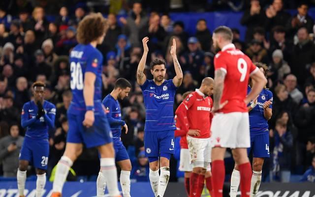 Cesc Fabregas bestritt am Samstag sein 501. und voraussichtlich letztes Spiel für den FC Chelsea