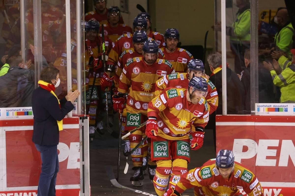 Das Coronavirus breitet sich in der Deutschen Eishockey Liga (DEL) aus. Nach Red Bull München ist nun auch die Düsseldorfer EG betroffen.