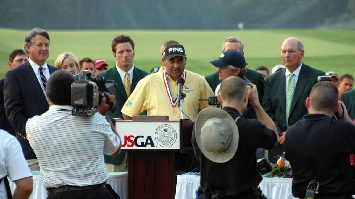 Angel Cabrera gewann 2007 die US Open im Golf