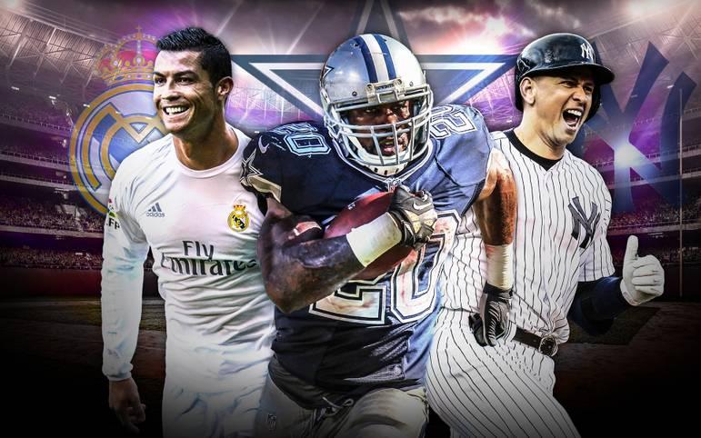 Forbes kürt seit 2011 die wertvollsten Klubs der Welt. In der neuesten Rangliste sind unter den Top 25 zehn NFL-Teams und jeweils fünf NBA-, MLB- und europäische Fußballklubs zu finden. Den größten Sprung macht ein englischer Klub, an der Spitze gibt es eine Wachablösung. SPORT1 zeigt die 25 wertvollsten Klubs der Welt