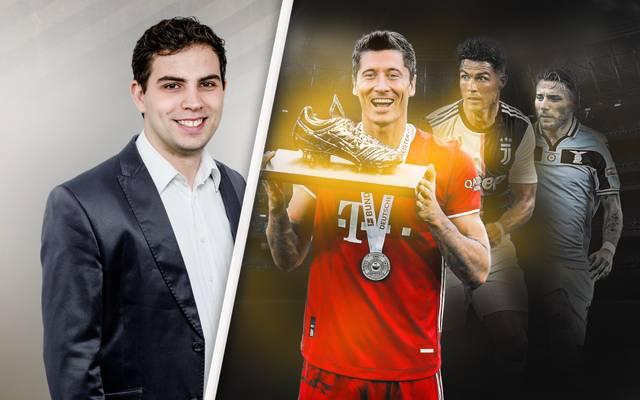 Robert Lewandowski hat gute Chancen auf den Goldenen Schuh