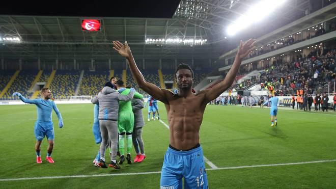 John Obi Mikel spielte seit 2019 für Trabzonspor