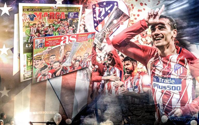 Nach dem 3:0-Sieg von Atletico Madrid gegen Olympique Marseille im Finale der UEFA Europa League verneigt sich die Welt vor Antoine Griezmann
