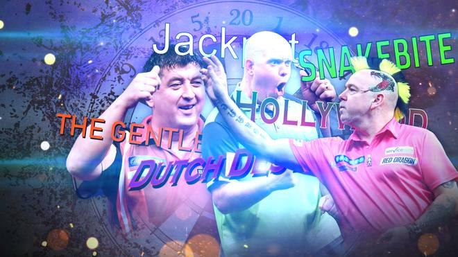 SPORT1 zeigt die Spitznamen der Darts-Stars