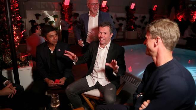 Lothar Matthäus (Mitte) kann sich Lionel Messi bei den Bayern nicht vorstellen