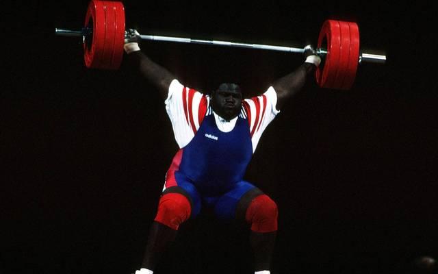 Mark Henry war mit 186 Kilo der schwerste Athlet bei Olympia 1996