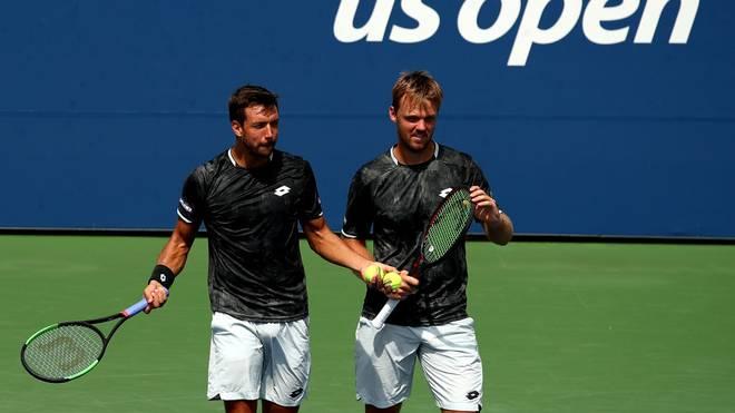 Andreas Mies und Kevin Krawietz müssen im US-Open-Halbfinale die Segel streichen