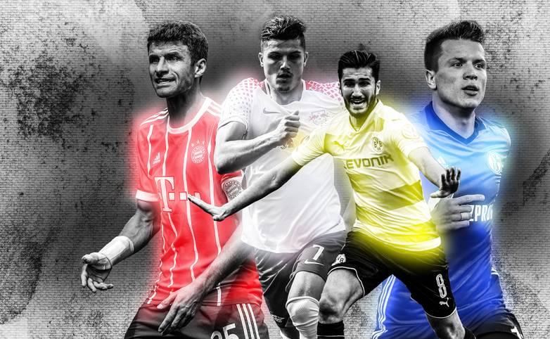 Studenten der Mediadesign Hochschule in Düsseldorf haben das schönste Bundesliga-Heimtrikot der Saison gekürt. SPORT1 zeigt das komplette Ranking