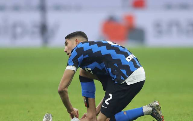 Achraf Hakimi wechselte für 40 Millionen Euro zu Inter Mailand