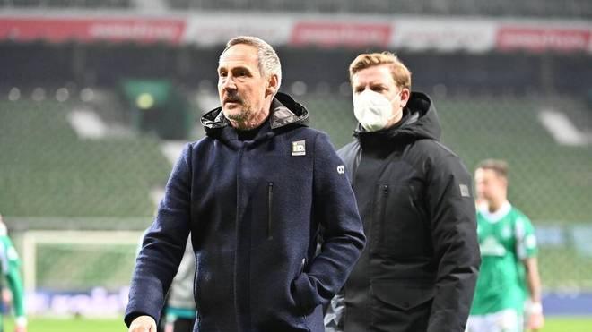 Adi Hütter hat bei Eintracht Frankfurt noch einen Vertrag bis 2023