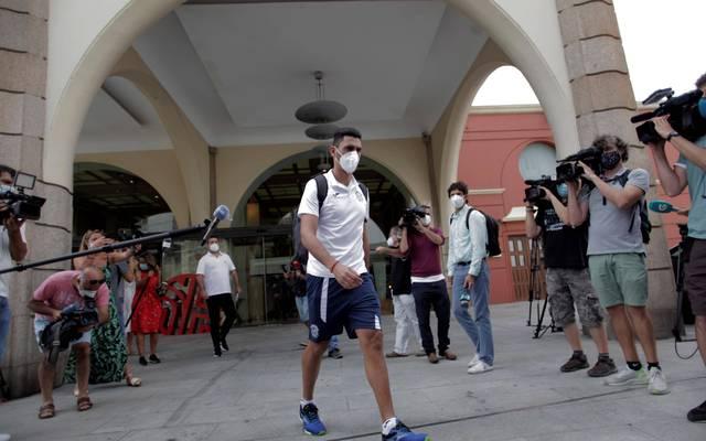 Fuenlabradas Spieler haben das Hotel verlassen